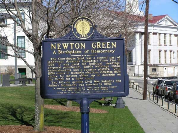 NEWTON GREEN A Birthplace of Democracy