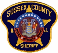 Sussex County Sheriff Patch