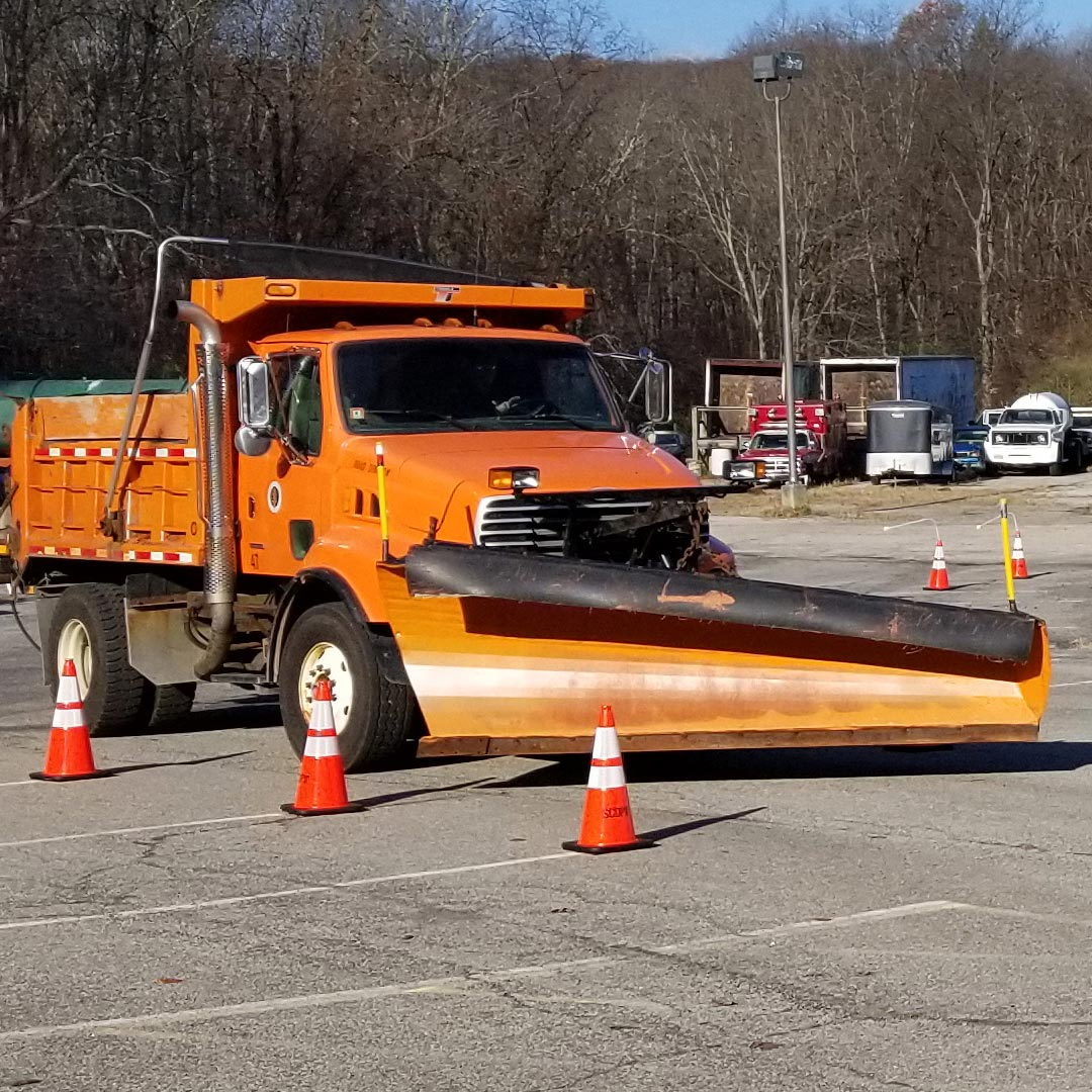 Snow plow rodeo