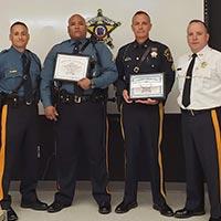 Sheriff Michael F. Strada Presents Life Saving Award