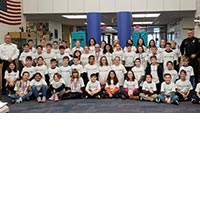 Fifth Grade Students from the Marian McKeown Elementary School Graduate from L.E.A.D.