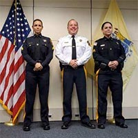 Two Sussex County Sheriff's Correctional Police Officers Promoted