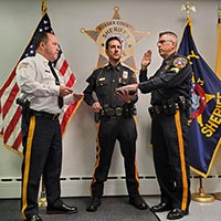 Detective Corporal Scott Haggerty Promoted to Sergeant