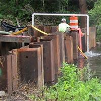 Rehabilitation of Bridge C-18 Byram Township