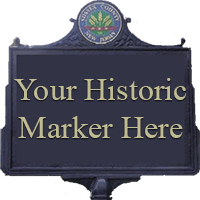 Call for Proposals for Historic Markers