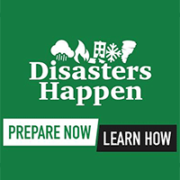 Prepared, Not Scared. Be Ready for Disasters