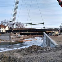 Reconstruction and Realignment of County Bridge X-09