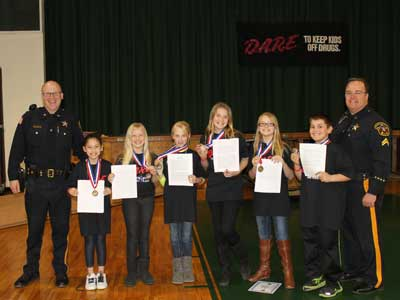 DARE Essay Contest Winners