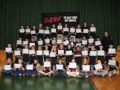 DARE graduating class