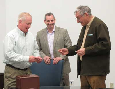 April 11, 2014 Ballot Draw at Sussex County Clerk