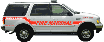 Fire Marshal Car