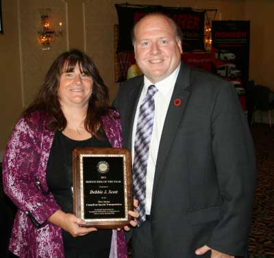 Debbie Scott, Dispatcher of the Year