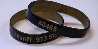 Senior wristbands