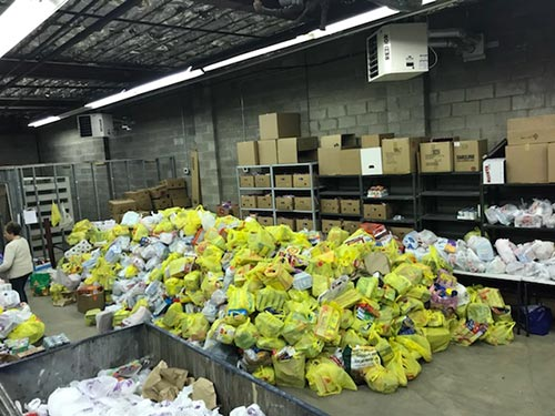 Image from Cram the Cruiser Food Drive