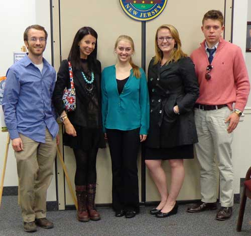 Students at Youth in County Government Day