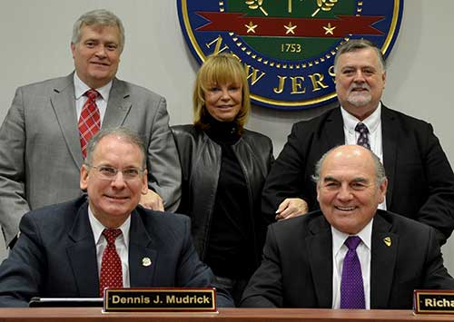 2015 Sussex County Board of Chosen Freeholders