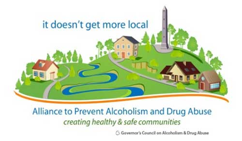 Governor's Council on Alcohol and Drug Abuse Logo