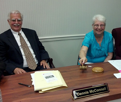 Elaine Morgan Last Meeting
