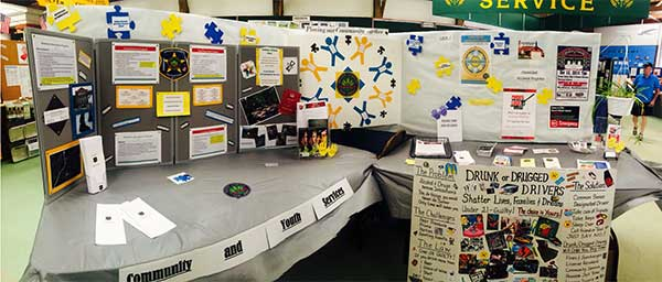Booth at the 2014 fair
