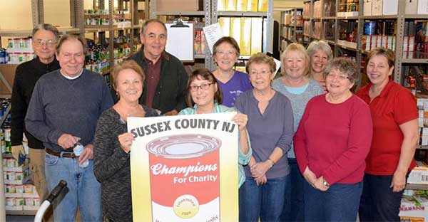 Sussex County Food Pantry Volunteers