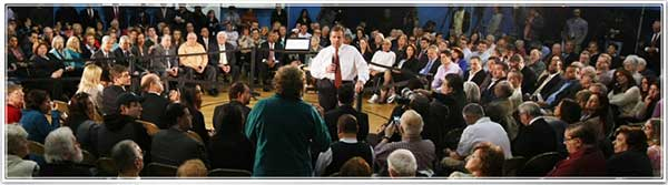 Governor Christie Town Hall Photo
