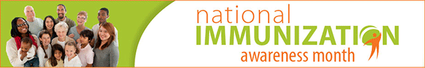 immunization Awareness Month Banner