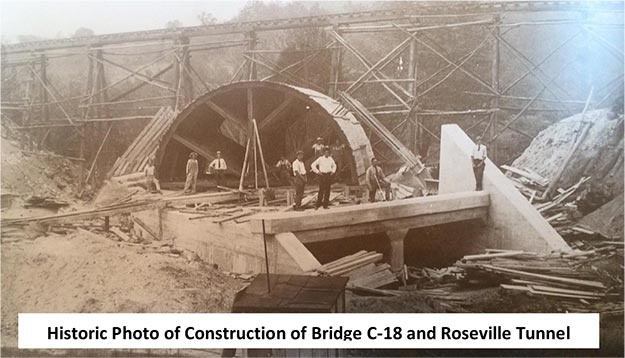 C-18 Construction around 1910
