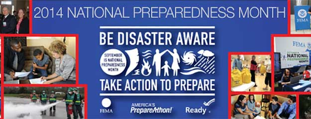 National Preparedness Month!