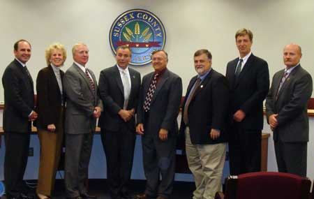 Freeholders and Andover Mayor