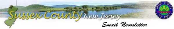 This is the official Sussex County Email Newsletter.  Please display images or click this link to view in a web browser.