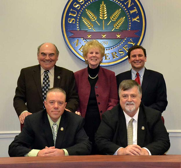 2012 Sussex County Board of Chosen Freeholders