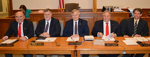 2016 Sussex County Board of Chosen Freeholders