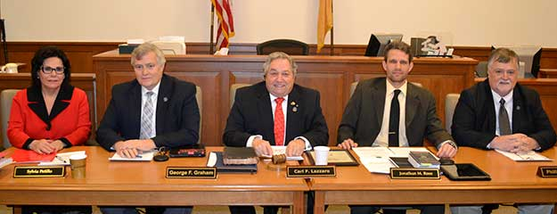 2017 Sussex County Board of Chosen Freeholders