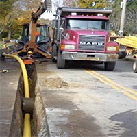 Lake Mohawk Gas Main Extension Project Continues