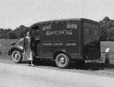 1942 Dodge Bookmobile
