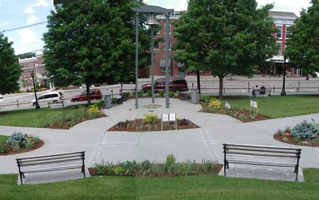Veterans Memorial Gardens Monument